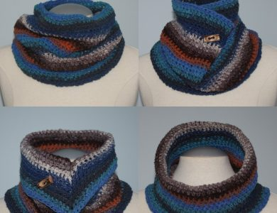 Beginner Crocheted Neck Warmer