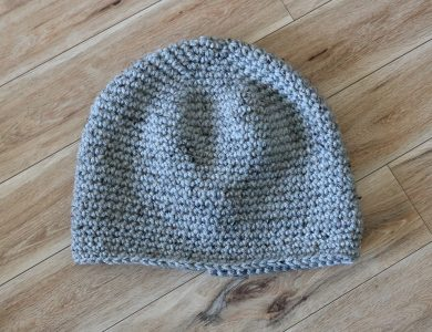 Beginner Crochet Beanie For Adults