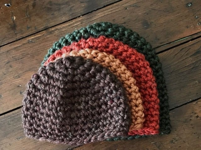 FULL CROCHET HAT PATTERN HERE  Written pattern includes 6 sizes from  Newborn to Adult XL e18433c5d31