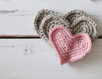 Easiest Crochet Heart Ever!