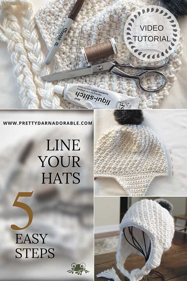137466665c9 How To Line A Hat With Earflaps