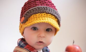 crochet baby newsboy pattern